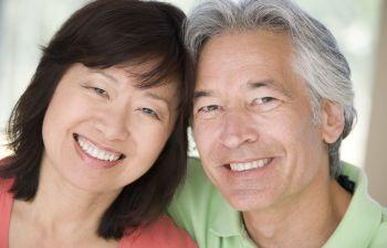 Older Couple With Dental Implants, Indian Land, SC